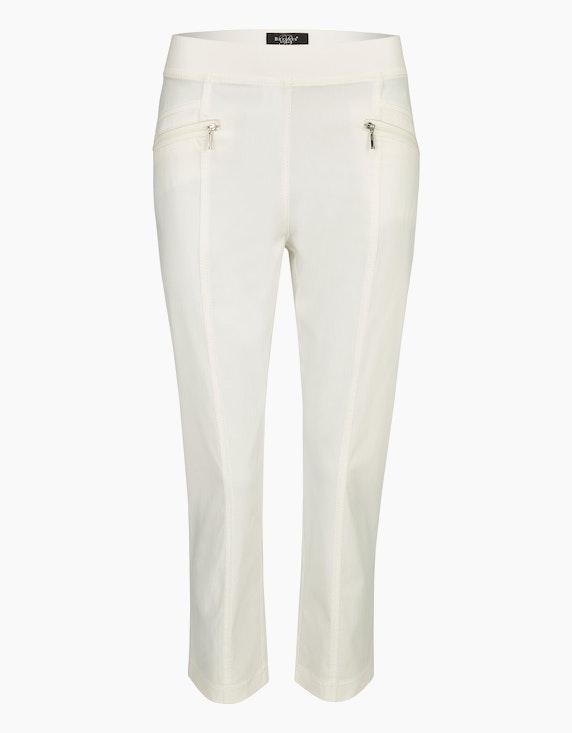 Bexleys woman 3/4 Bengalin-Hose in Schlupfform in Weiß   ADLER Mode Onlineshop