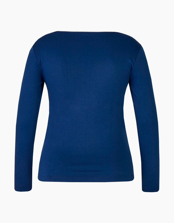 Malva Langarmshirt mit Strassbesatz | ADLER Mode Onlineshop