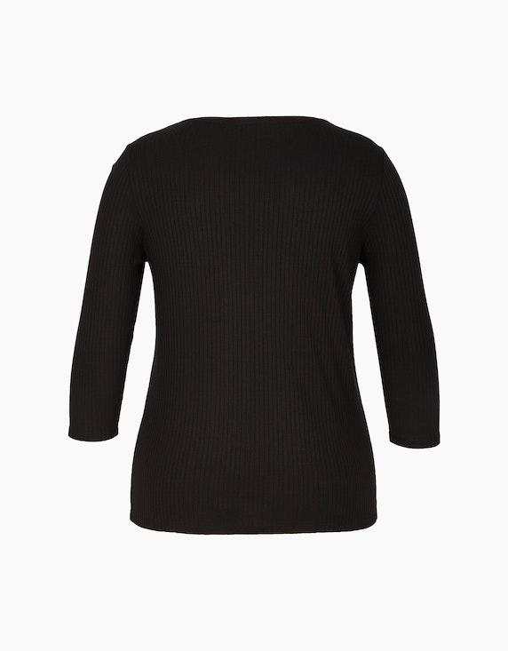 MY OWN Basic-Shirt in Ripp-Optik | ADLER Mode Onlineshop