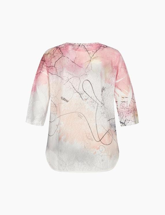 MY OWN Shirt mit Allover-Muster und Ziersteinen | ADLER Mode Onlineshop