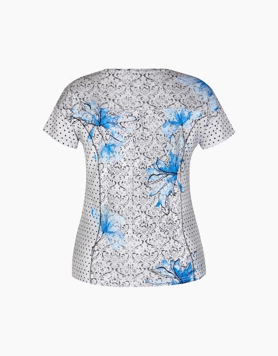 Bexleys woman T-Shirt mit Mustermix und Glitzersteinen | ADLER Mode Onlineshop