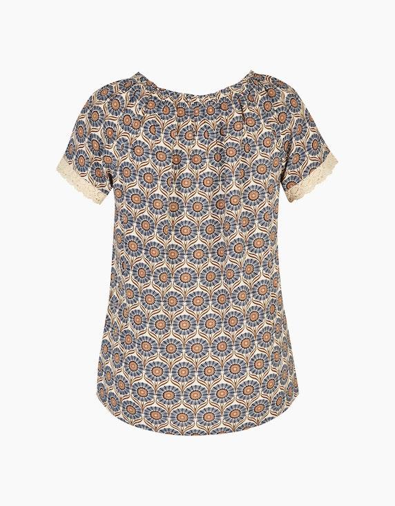 MY OWN Carmen-Bluse mit Allover-Muster | ADLER Mode Onlineshop