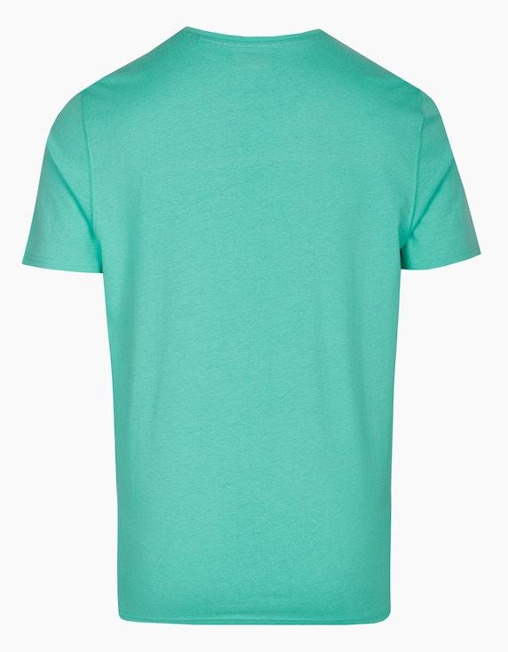 Bexleys man T-Shirt mit Schriftzug-Print | ADLER Mode Onlineshop