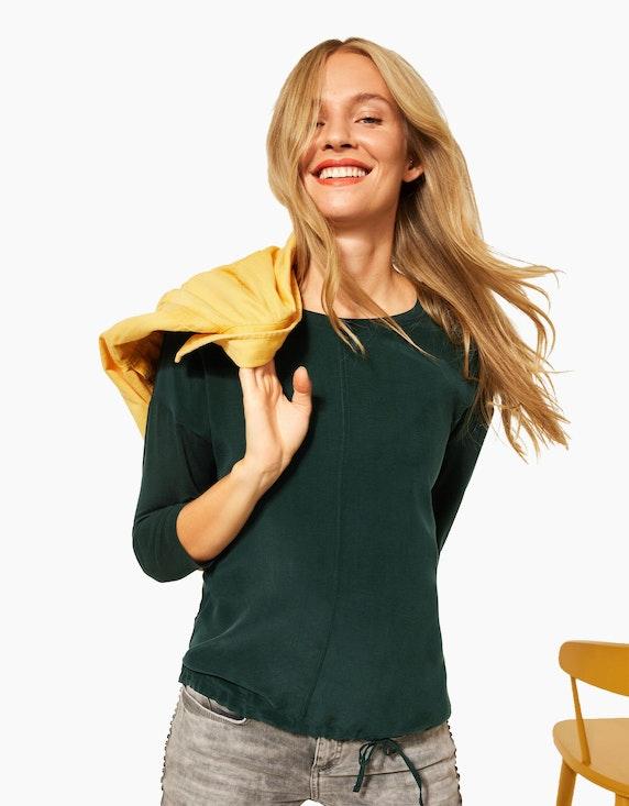 Street One Shirt im Materialmix | ADLER Mode Onlineshop