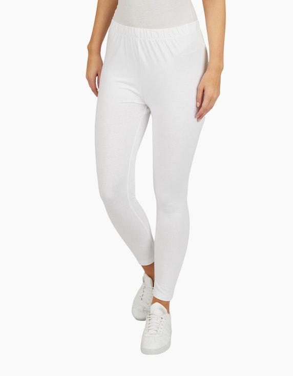Bexleys woman Jersey-Leggings in 7/8-Länge | ADLER Mode Onlineshop