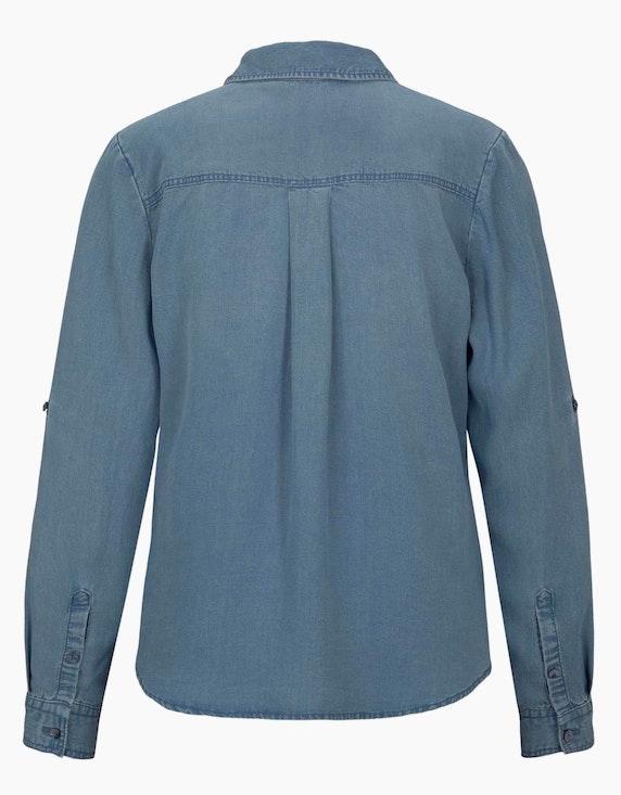 Tom Tailor Bluse im Jeans-Look | ADLER Mode Onlineshop