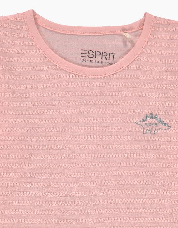 Esprit Mini Girls Langarmshirt mit Ringelstruktur   ADLER Mode Onlineshop