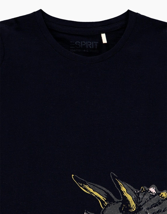 Esprit Mini Girls Langarmshirt mit Metallic-Print   ADLER Mode Onlineshop