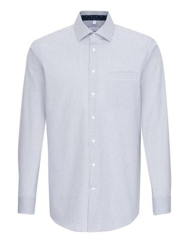 Produktbild zu <strong>Dresshemd im Kleinkaro mit modischem Besatz</strong>MODERN FIT von Seidensticker