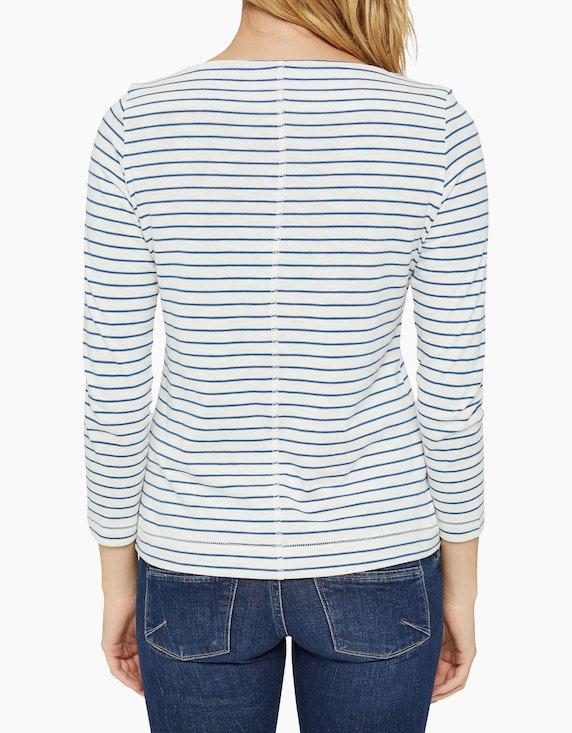Esprit Streifen-Shirt, Regular Fit, Bio-Baumwolle   ADLER Mode Onlineshop