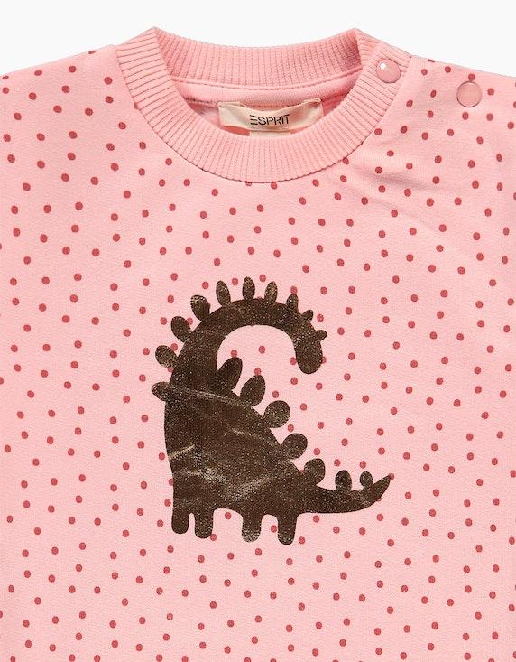 Esprit Baby Girls Sweatshirt mit Punkte-Print aus Bio-Baumwolle   ADLER Mode Onlineshop