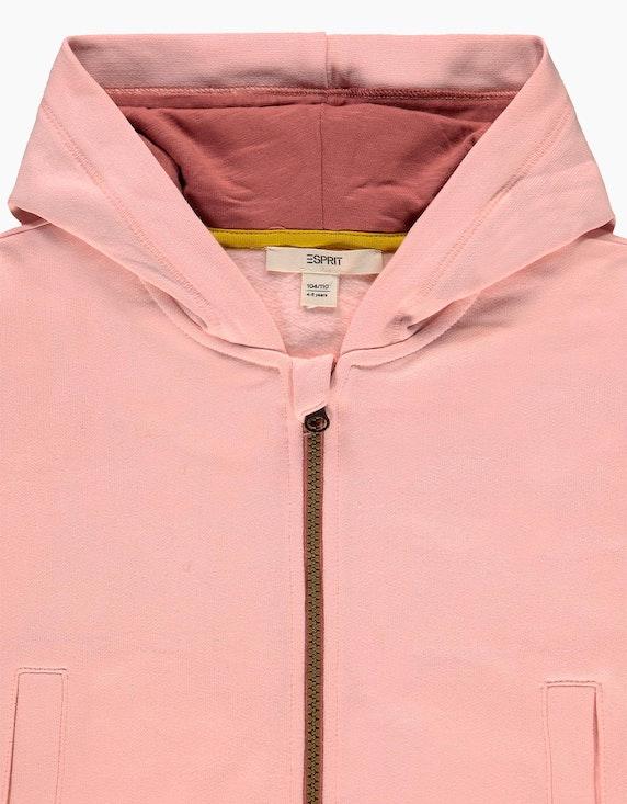 Esprit Mini Girls Zipper-Hoodie mit Colorblock   ADLER Mode Onlineshop