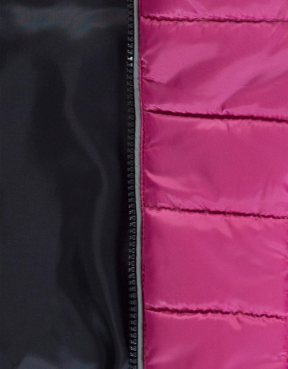 Esprit Girls Steppjacke mit Kapuze und reflektierenden Details   ADLER Mode Onlineshop