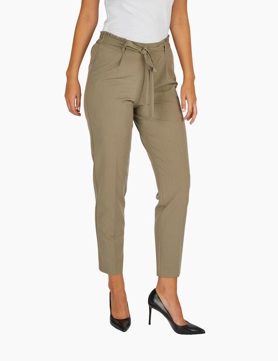 Bexleys woman Paperbag-Hose mit Bindegürtel | ADLER Mode Onlineshop
