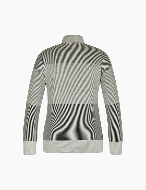 Bexleys woman Jacquard-Shirt mit Streifenmuster | ADLER Mode Onlineshop