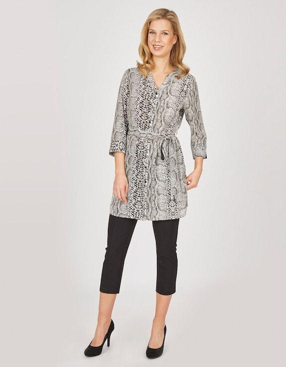 Bexleys woman Longbluse mit Reptil-Print   ADLER Mode Onlineshop