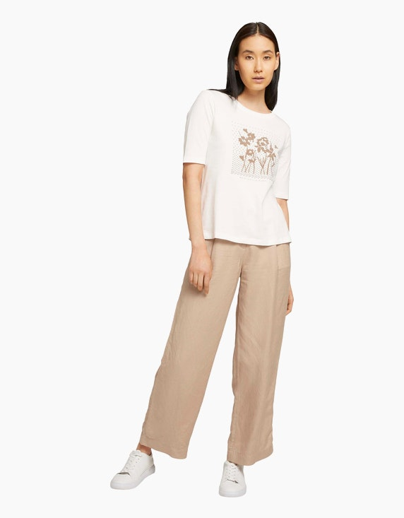 Tom Tailor Shirt mit Bio-Baumwolle   ADLER Mode Onlineshop