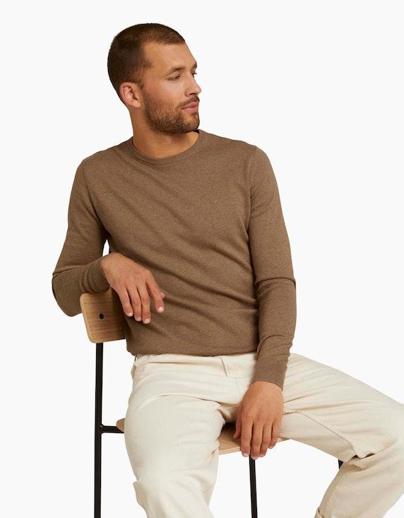 Tom Tailor Melierter Strickpullover | ADLER Mode Onlineshop