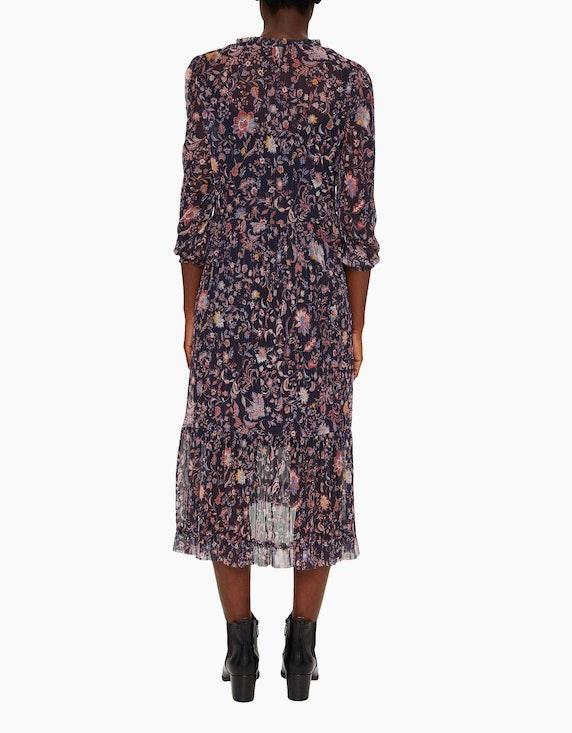 Esprit langes Plissee-Kleid, Mesh-Qualität   ADLER Mode Onlineshop