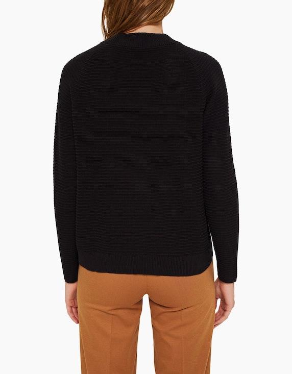 Esprit Pullover in Ripp-Struktur, Organic Cotton | ADLER Mode Onlineshop