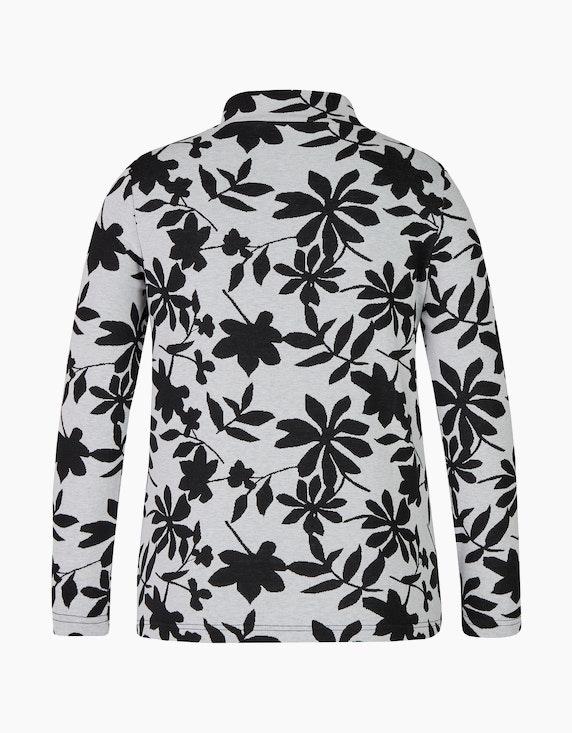 Bexleys woman Langarmshirt mit Stehkragen   ADLER Mode Onlineshop