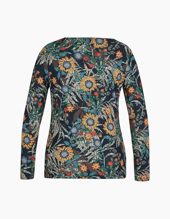 Malva Langarmshirt mit floralem Druck   ADLER Mode Onlineshop