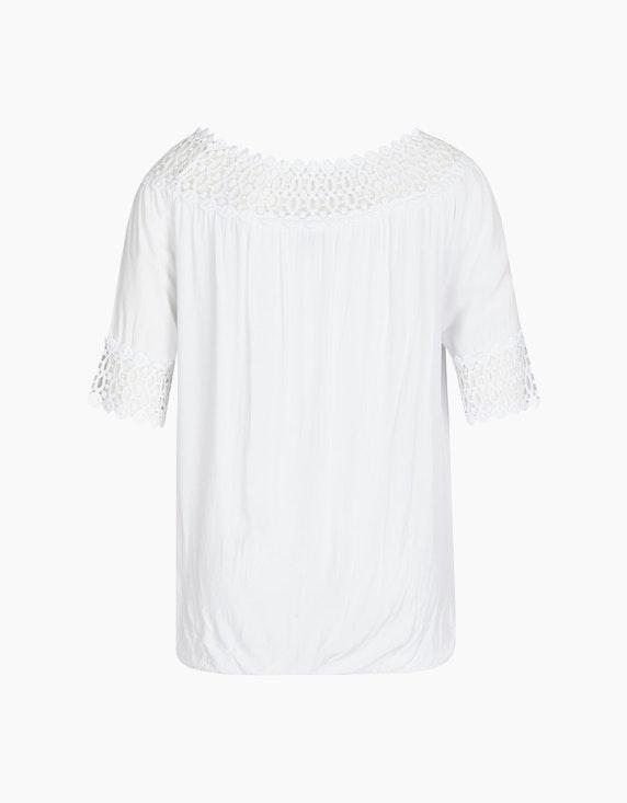 Made in Italy Bluse im Carmen-Stil   ADLER Mode Onlineshop