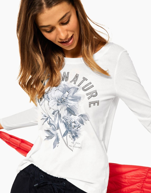 CECIL Shirt mit Fotoprint | ADLER Mode Onlineshop