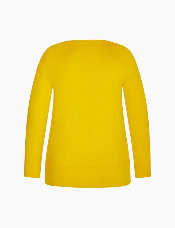 Bexleys woman Shirt mit Materialmix | ADLER Mode Onlineshop