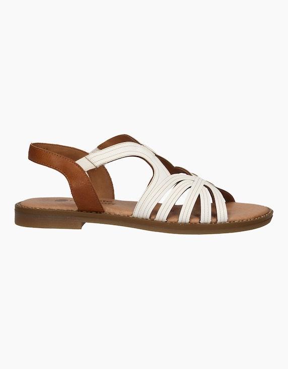 Remonte Sandale in Weiß | ADLER Mode Onlineshop