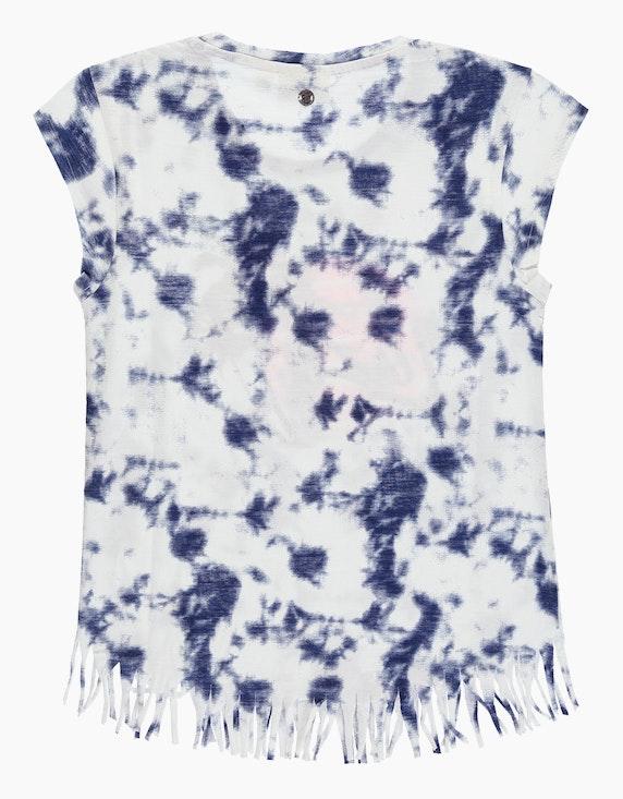 Tom Tailor Girls Batik-Shirt mit Fransen-Saum   ADLER Mode Onlineshop