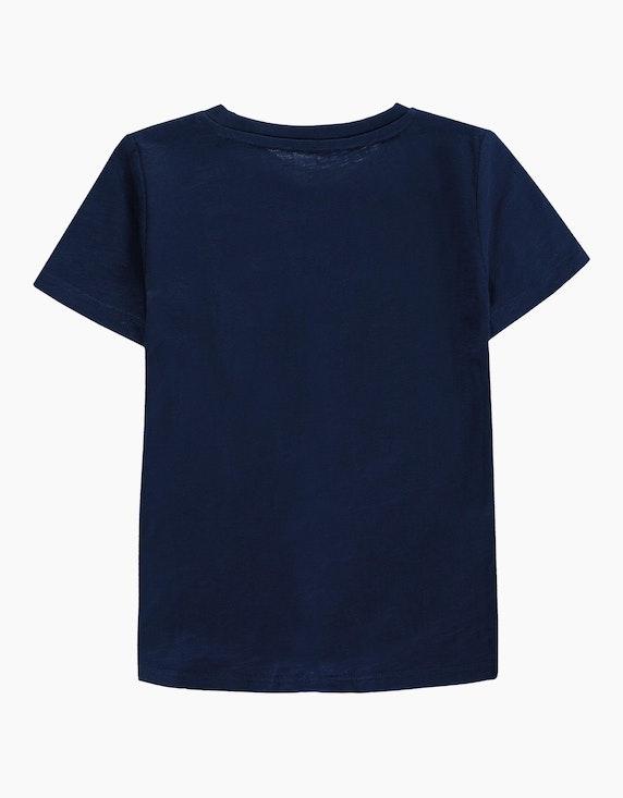 Tom Tailor Mini Girls T-Shirt mit Knotendetail und Kakadu   ADLER Mode Onlineshop