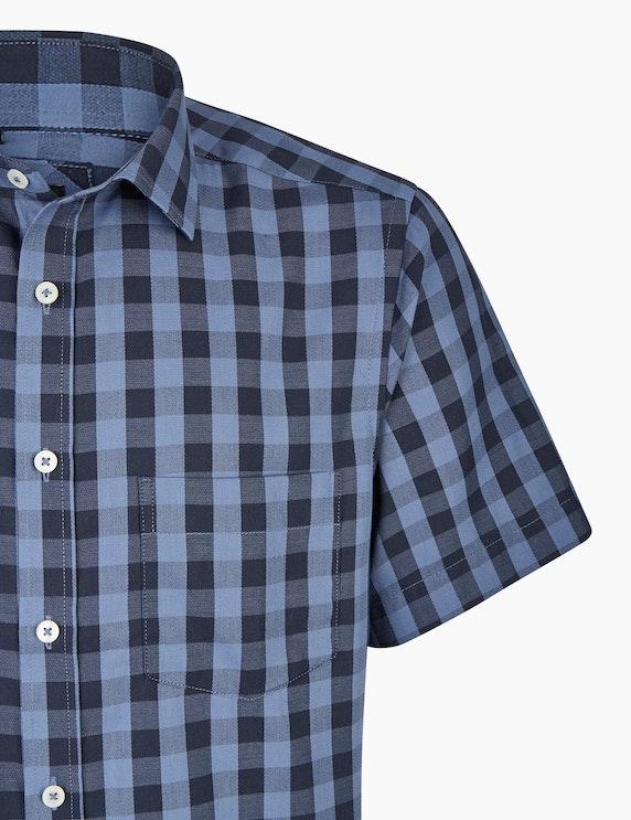 Bexleys man Baumwollhemd mit großflächigem Karo, MODERN FIT | ADLER Mode Onlineshop