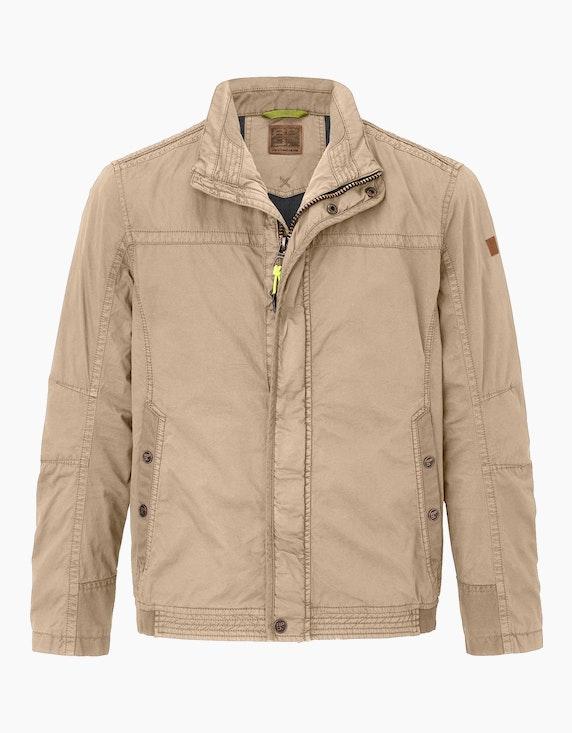 Big Fashion Leichte Jacke aus Baumwolle | ADLER Mode Onlineshop