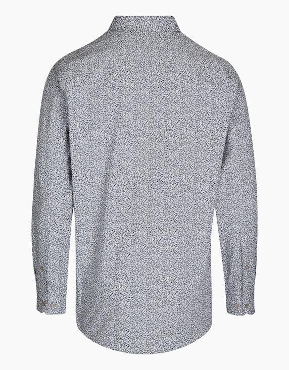 Bexleys man Freizeithemd mit modischem Blümchenprint, REGULAR FIT | ADLER Mode Onlineshop