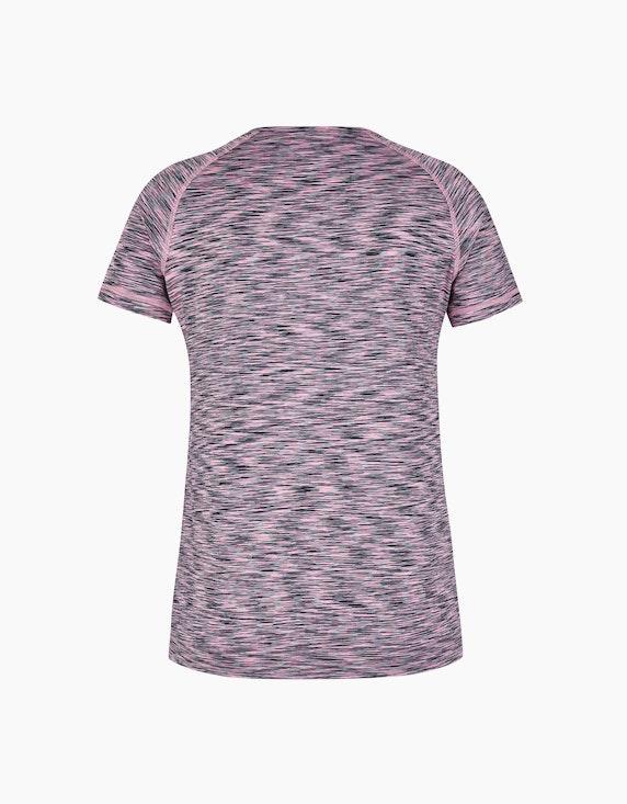 Fit&More Fitness-Shirt mit Melange-Effekt   ADLER Mode Onlineshop