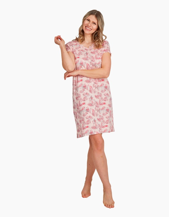 Bexleys woman Nachthemd mit floralem Druck | ADLER Mode Onlineshop
