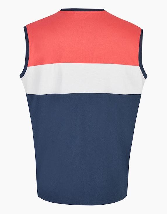 Big Fashion Achselshirt mit Colorblock | ADLER Mode Onlineshop