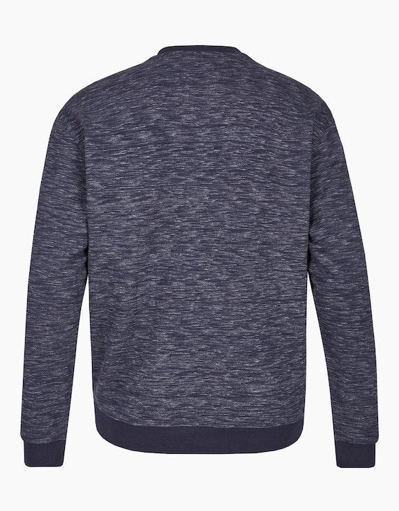 Big Fashion Sweatshirt in Melange   ADLER Mode Onlineshop