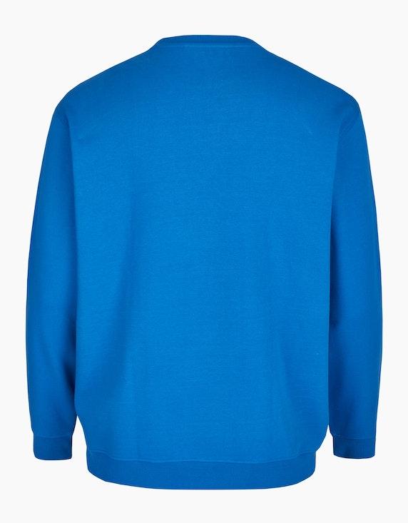 Big Fashion Sweatshirt mit Brustdruck   ADLER Mode Onlineshop