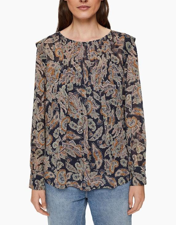 Esprit Chiffon-Bluse mit Paisley-Print   ADLER Mode Onlineshop