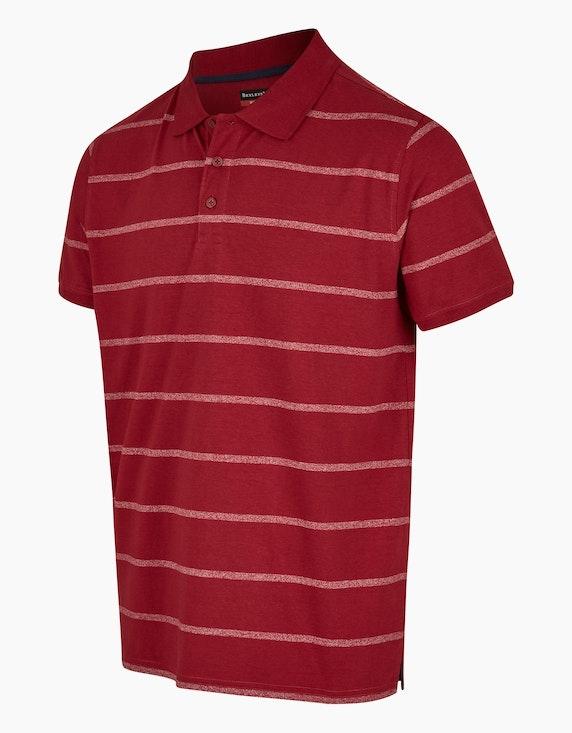 Bexleys man Poloshirt im Grindle-Streifendessin | ADLER Mode Onlineshop