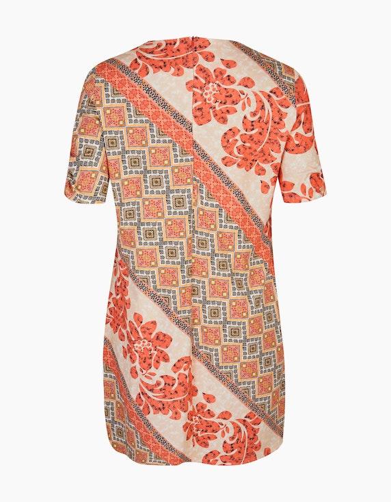 No Secret Gemustertes Kleid mit Einstecktaschen   ADLER Mode Onlineshop
