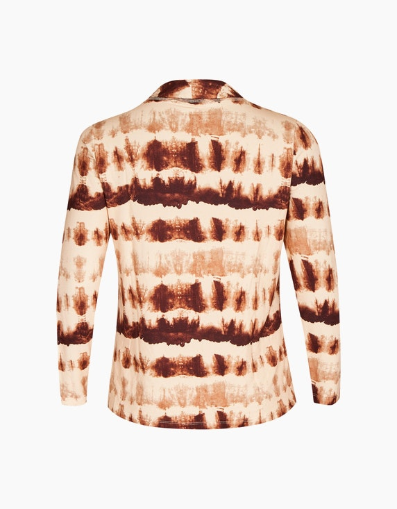No Secret Sweatshirt im Batik-Look | ADLER Mode Onlineshop