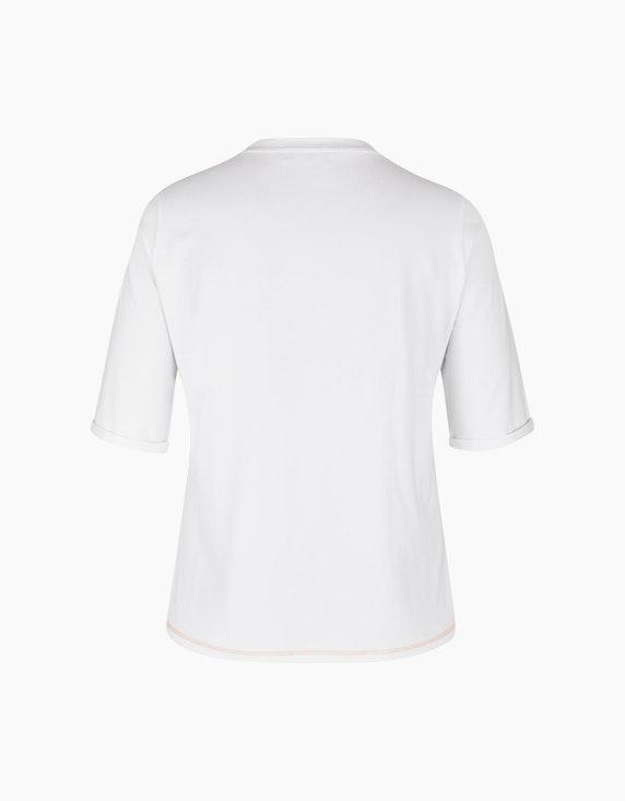 No Secret Halbarmshirt mit Pailletten-Motivdruck   ADLER Mode Onlineshop