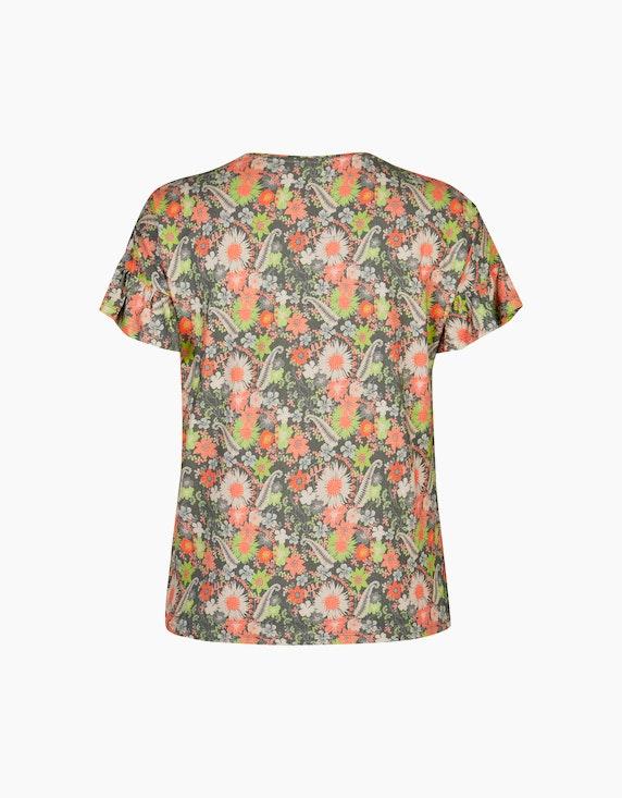 No Secret Shirt mit blumigem Alloverdruck   ADLER Mode Onlineshop