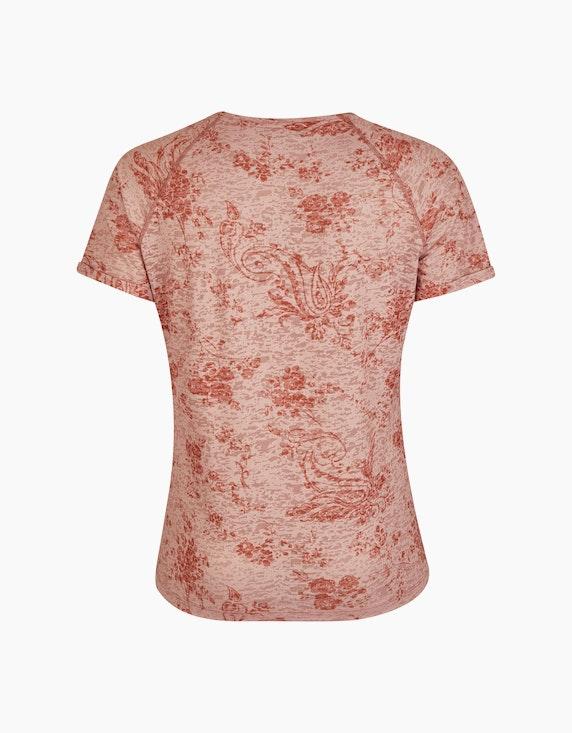 No Secret Ausbrenner-Shirt mit Allovermuster   ADLER Mode Onlineshop