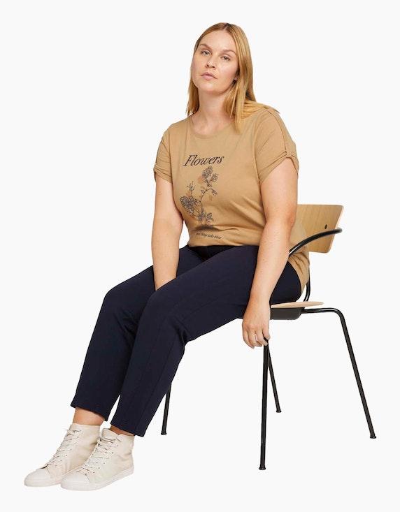 My True Me Print T-Shirt mit Bio-Baumwolle | ADLER Mode Onlineshop