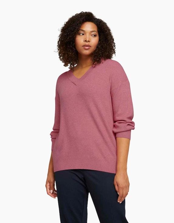 My True Me Pullover in Melange-Optik | ADLER Mode Onlineshop