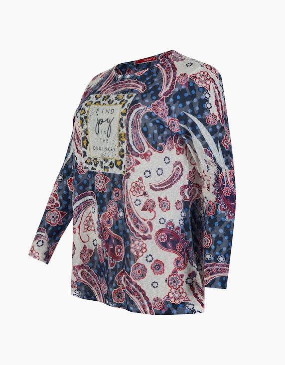 Thea Ausbrenner-Shirt mit Nietendetails | ADLER Mode Onlineshop